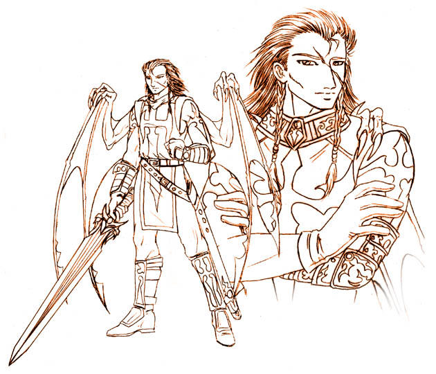 Nephilim of Blades by nachtwulf