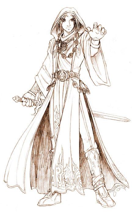 Tybalt :full sketch: by nachtwulf