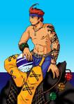Aurochs Captain - Celshaded