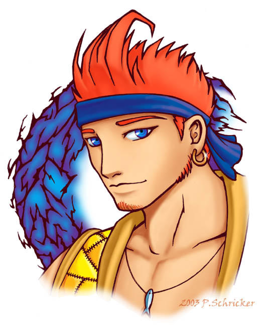 KH Wakka - 2yrs Post Game by nachtwulf