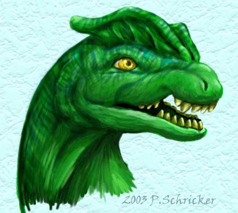 Dilophosaurus by nachtwulf
