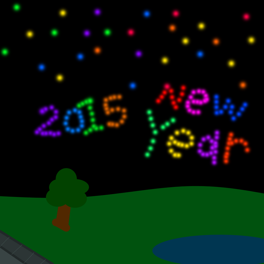 2015 New Year and New Years Eve by starock1