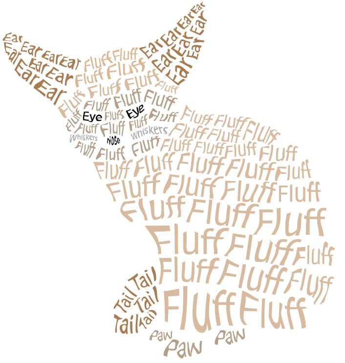 Fennec Fox (Text Art) by whiffy5