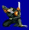 Ryu Hayabusa Falcon's Talon Sprite by diochi
