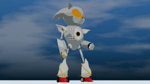 Silver Sonic Cell Shaded