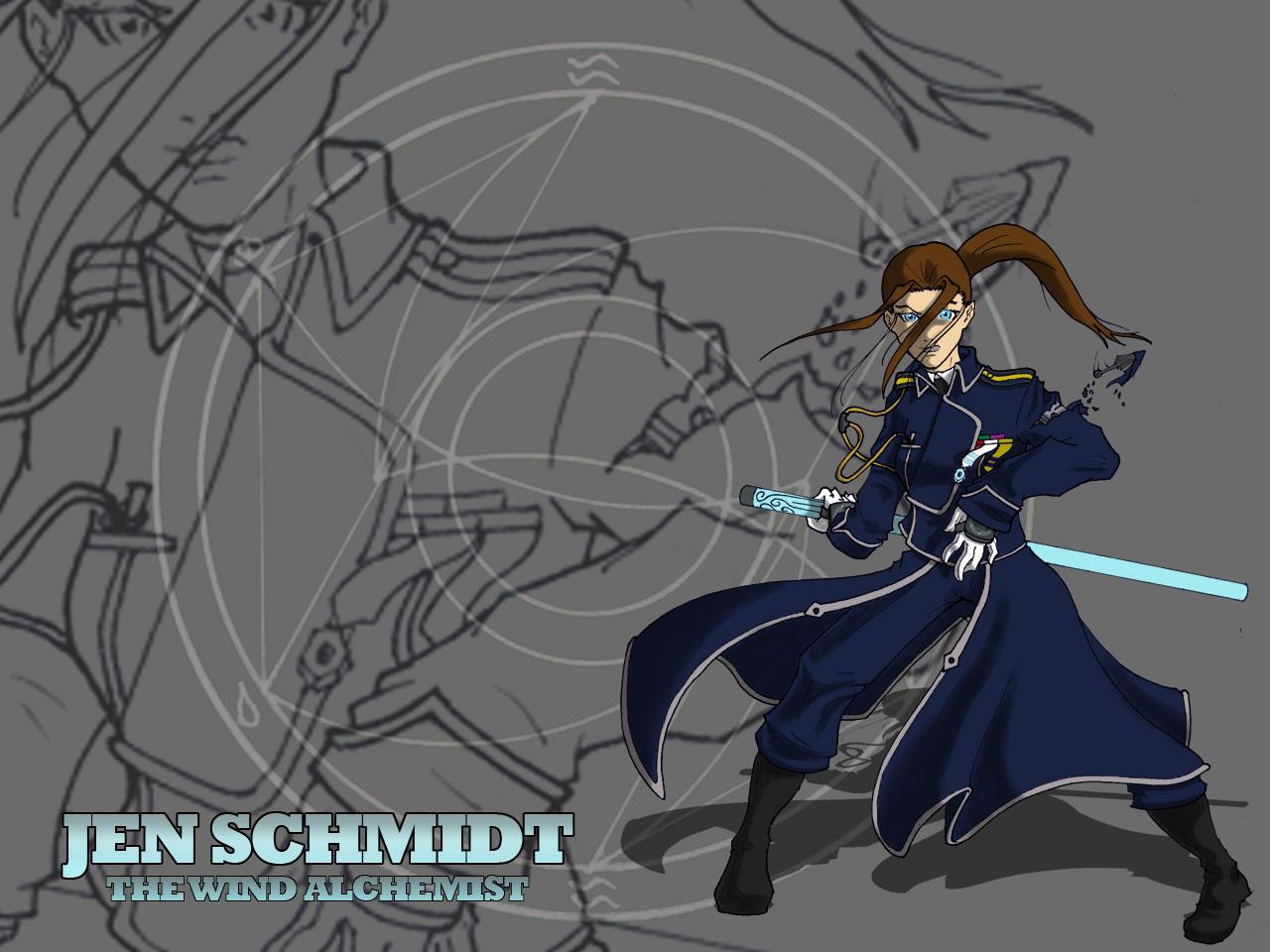 Jen Schmidt - Wind Alchemist by kiem