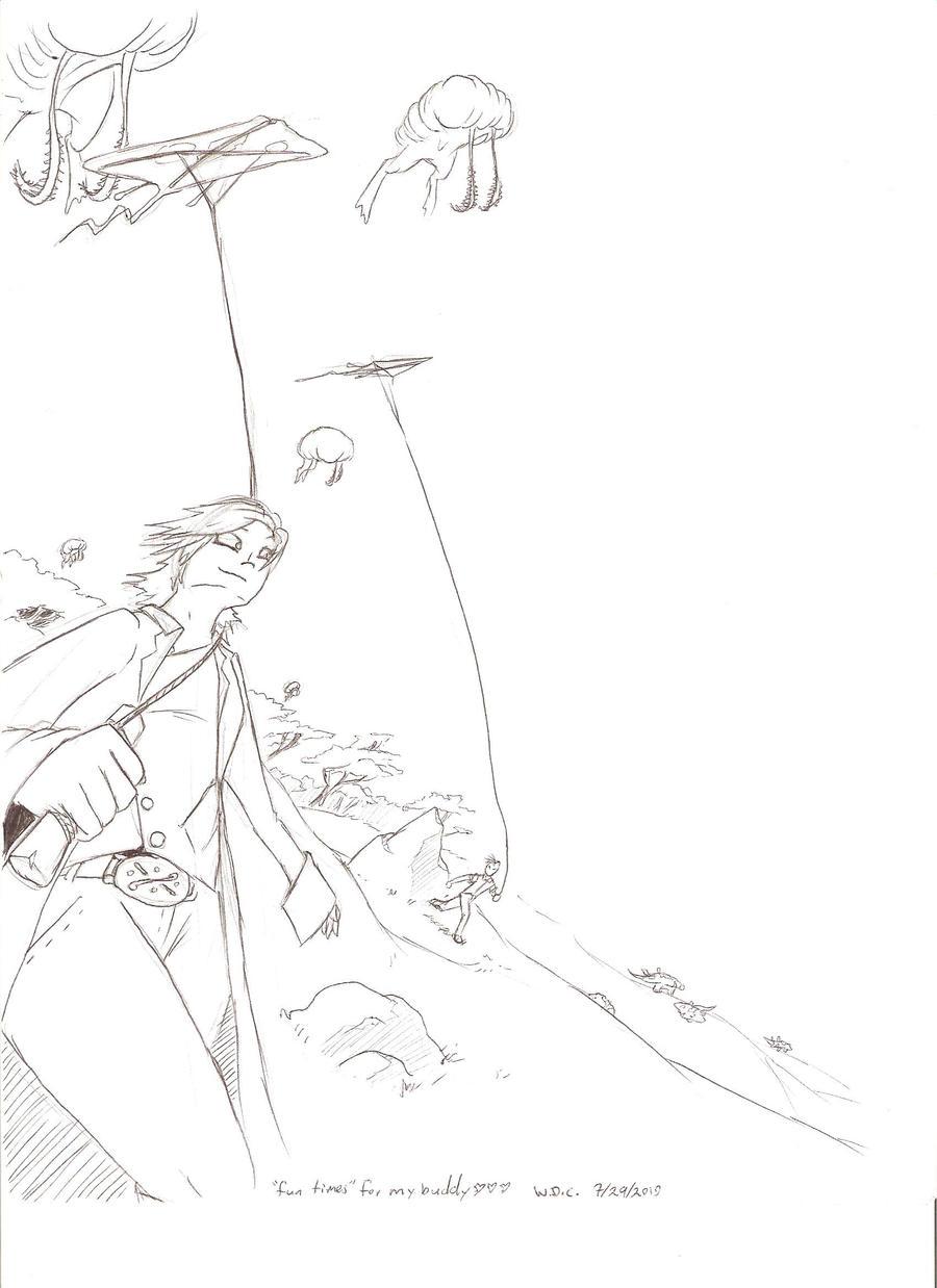 Fairy flying kite by Phaeda on deviantART