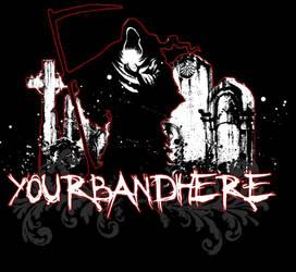 Grim Reaper Shirt by screamthroughsunset