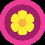 Pinkie Pie Part Cannon Wheel Icon by WhovianBron3