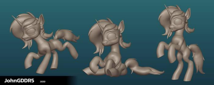Caroline Pony - Clay Banner