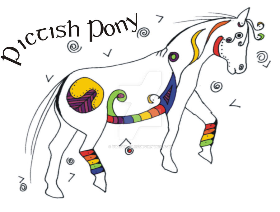 Pictish Pony II - colour