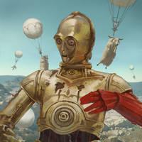 Metal Gear C3PO by IlyaBrovkin