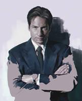 Fox Mulder by IlyaBrovkin