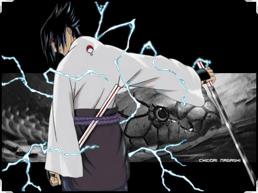 Sasuke - CHIDORI NAGASHI - by HokageJR on DeviantArt