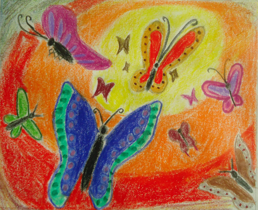 Butterflies by traceybrechner