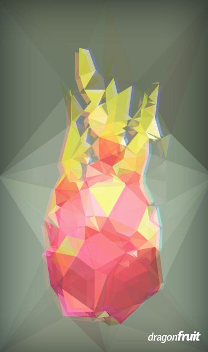 Dragonfruit by UVSoak3d