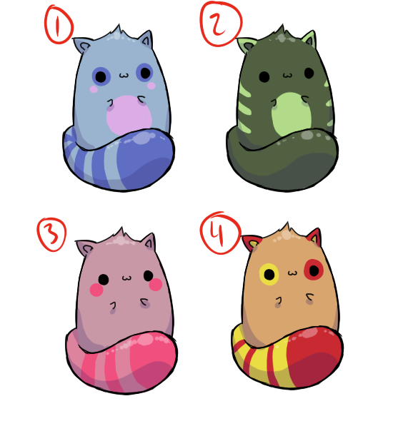 Random Kits - 1 Left! by Ae-Adoptables