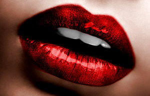 red lips by lastTrip69 by lip-secret