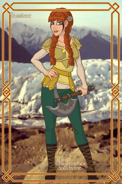 Scarlett In Viking by VALERITABONITA