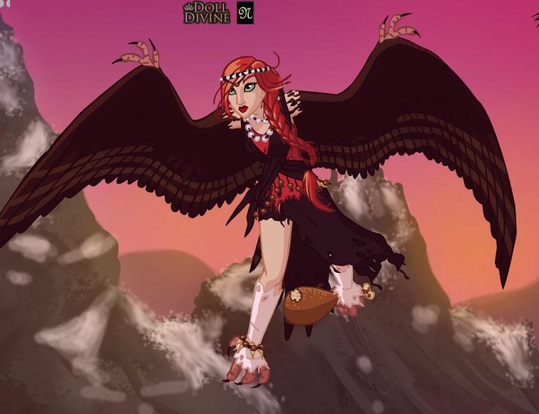 Myself In Harpy Form by VALERITABONITA