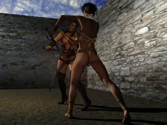Pit Slaves 1 by wanlongcok