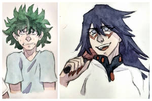 Thought I'll put two drawings