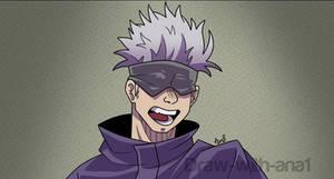 Another drawing of Satoru