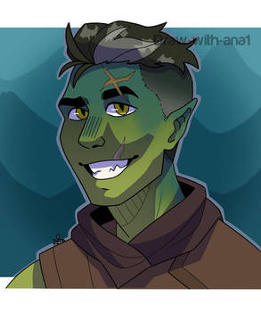 A drawing of Fjord