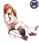 Misaka X Sister Kawaii Render