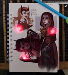 Wanda sketches