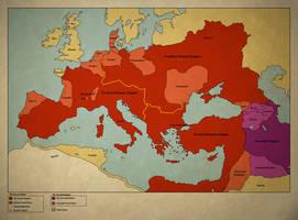 A Hunnic Empire - The Third Rome by Gouachevalier