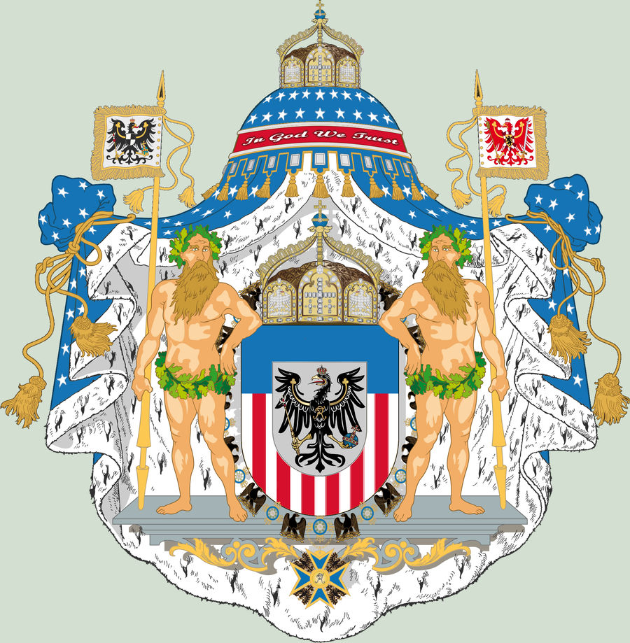 AH - American Coat of Arms by Gouachevalier on DeviantArt
