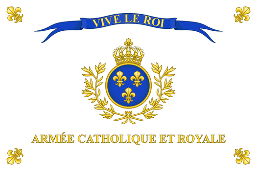 Royalist Vendee Flag