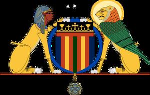 Coptic Coat of Arms by Gouachevalier