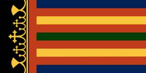 Coptic Armorial Flag by Gouachevalier