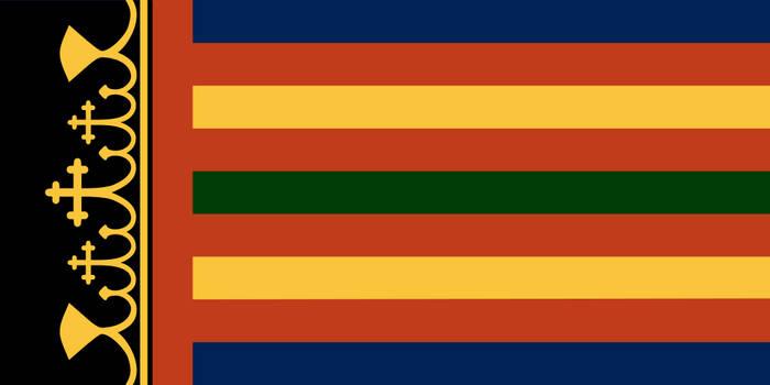 Coptic Armorial Flag