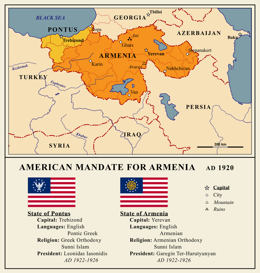 Mandatory Armenia by Gouachevalier
