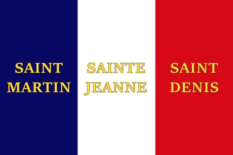 French Saint Flag by Gouachevalier