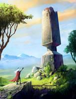 Obelisk by dirkwachsmuth