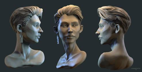 'Irina' - Portrait Sculpt