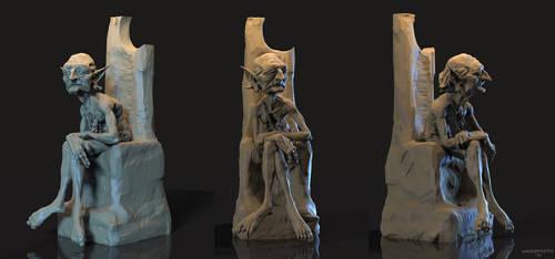 Elder Goblin Sculpture