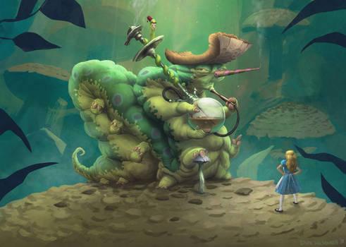 Caterpillar - Alice in Wonderland