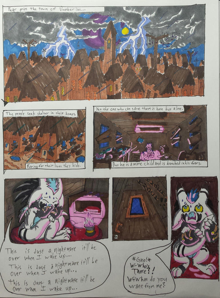 Torch of Midnight page 1 by Jblask