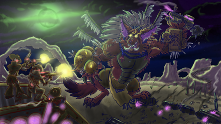 High noon Mega Gnar by Jblask