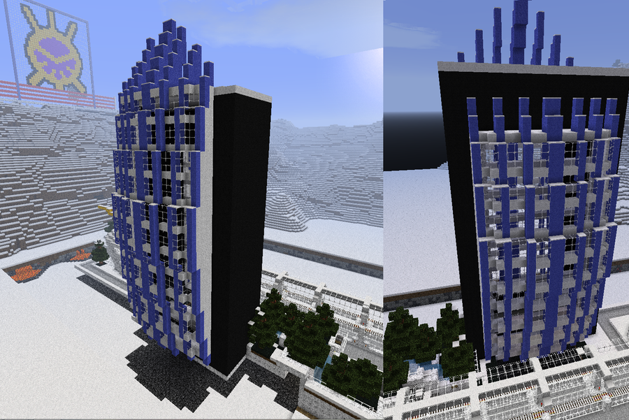 paragon offices minecraft by TheApiem