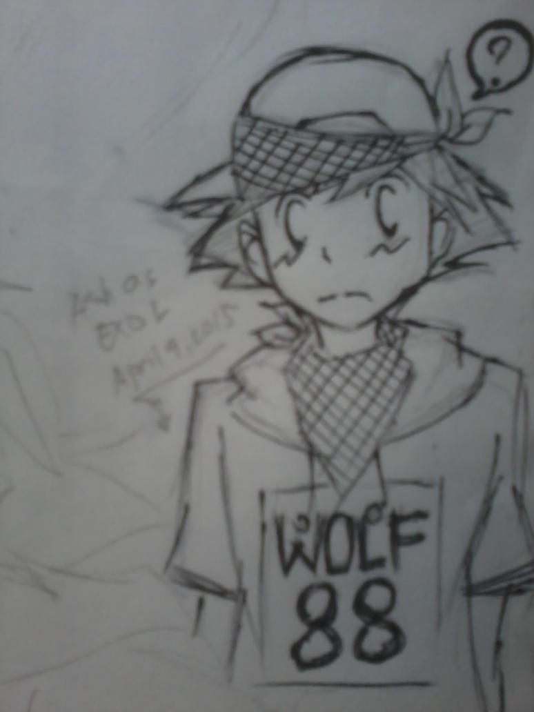 Kpop!Ash - Wolf88 by Uta-Makoto-chan