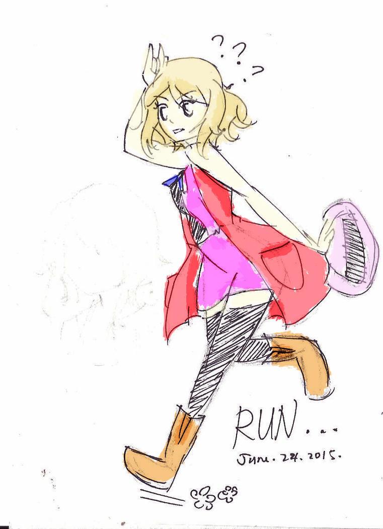 Run ! by Uta-Makoto-chan