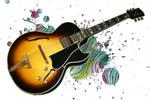 Trippy Guitar by okay54