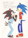 You're Sonic the Hedgehog (colored)