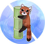 Red panda chibi